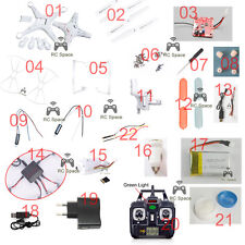 All spare parts for SYMA X5C X5 quadcopter blade motor gear battery charger baby