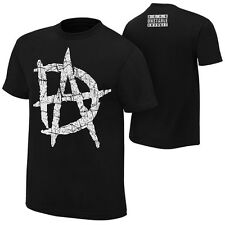 Dean Ambrose UNSTABLE LOGO Black WWE Authentic T-Shirt OFFCIAL LICENSED