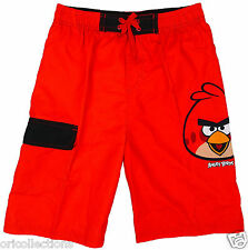 BN**BOYS**ANGRY  BIRDS LIGHT WEIGHT SHORTS  WITH INSERT UNDER PANTS(3-12yrs)
