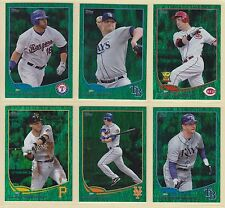 2013 , Topps , Emerald , Pick From Drop Down List