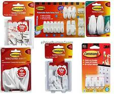 3M Command Damage-Free Hooks and Adhesive Strips - Pick your product - Wholesale