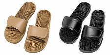 MASEUR SANDALS INVIGORATING BEIGE AND BLACK SIZES 5,6,7,8,9,10,11