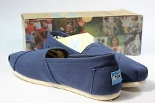 New Toms Women's Classics Slip Ons - Navy Canvas - All Sizes