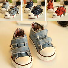 denim high child canvas shoes sneakers boys shoes for girls children shoes kids