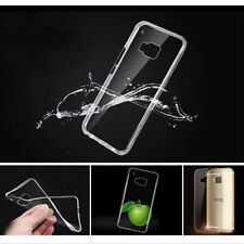 Slim Soft Transparent TPU Rubber Gel Skin Protector Case Cover for HTC ONE M9 P1