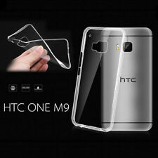 Slim Soft Transparent TPU Rubber Gel Skin Protector Case Cover for HTC ONE M9 C1