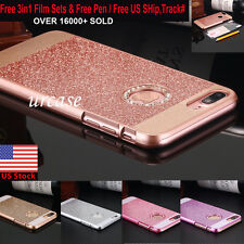 Luxury Crystal Rhinestone Diamond Bling Hard Case Cover For iPhone 6 6 Plus 5.5""