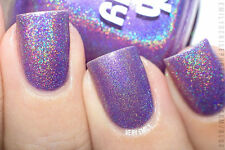 Polish Me Silly You're a grape friend  Holographic Nail Polish Indie Polish