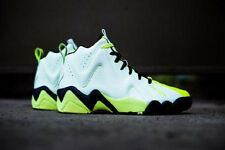 Reebok Kamikaze II Mid Sneakers New, Neon Glow in the Dark, Shawn Kemp V51846