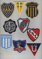 Football Sudamerica Sport Clubs Logo Multi Color Embroidered Patch  Boca River