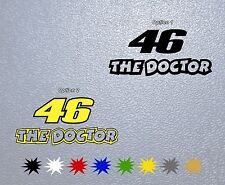 MOTORCYCLE STICKER PEGATINA DECAL VINYL 46 The Doctor,Valentino Rossi