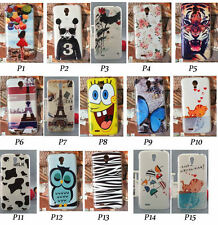 For Lenovo A678t A859 Cute Cartoon Snoopy Girl Flower Butterfly Hard Case Cover