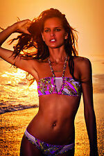 AGUA BENDITA BENDITO BOSQUE SWIMSUIT MEDIUM+ FREE SOUVENIR BAG. MSRP $235