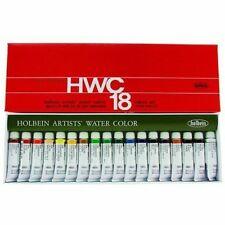 Holbein Artists' Transparent Watercolor 18/24/48/60/108 Colors Set #2 Tube (5ml)