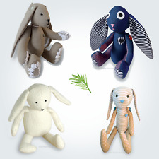 Fabric Bunny Rabbit / Teddy Bear Soft Toy Sewing PATTERN Independent Design