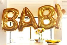 "BABY- New Party Mylar Foil Balloons 16""--40"" Gold&Silver"