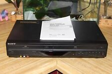 Sony DVD VHS Player Recorder SLV-D281P Video Cassette Manual Hi-Fi Stereo TESTED