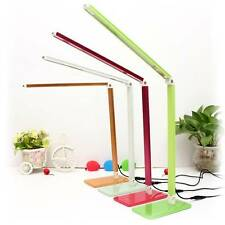 Foldable 48SMD LED Dimmable Adjustable Flexible Table Lamp Desk Reading Light 7W