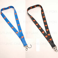 Superman Logo Style Mobile Phone Lanyard Key Chain Strap Charms