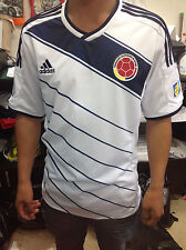 SELECCION COLOMBIA FCF NATIONAL TEAM WHITE SOCCER FOOTBALL JERSEY ALL MENS SIZE