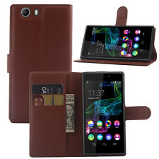 Litchi PU Leather Case For Wiko Ridge 4G