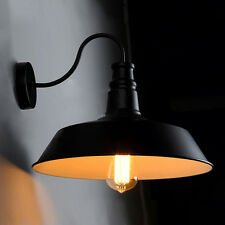 Wall Lamp of Retro Style Barn Goose Neck Filament Sconce Restoration Fixture Hot