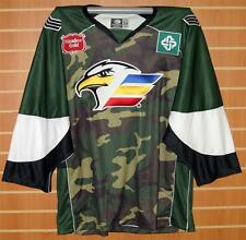 Colorado Eagles CHL Authentic On Ice Game Issued Military Camo Hockey Jersey