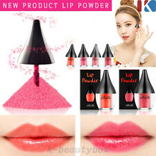 NEW CONCEPT Long Lasting Lip powder tint gloss All day Real Strong color!