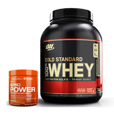 OPTIMUM NUTRITION GOLD STANDARD 100% WHEY (5 LB) Protein Isolates Powder 5lbs