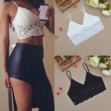 Sexy Summer Women Crop Tops Strap Blouse Vest Cut Out Shirt Beach Tank S45K