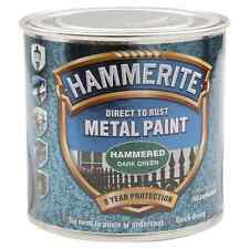 Hammerite DirectToRust Metal Paint 250ml Hammered Green, Black, Blue or Copper