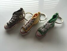 1P Converse All Star Canvas Sneaker MINIATURE Shoes Keyring Key Ring holder gift