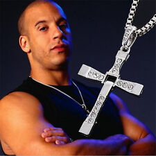 Hot FAST and FURIOUS Vin Diesel Dominic Toretto's Cross Men Pendant Necklace