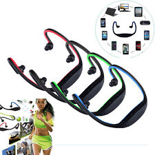 Sport Wireless Bluetooth Stereo Headphone Headset Earphone for Samsung iPhone