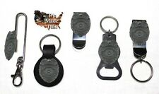 To Protect and Serve Police Badge Bottle Opener Key Fob Key Holder Money Clip