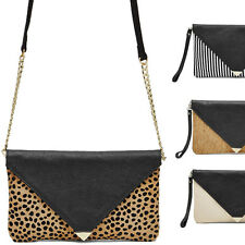 Mighty Purse ENVELOPE Clutch Wristlet - iPhone Android Charger Leather Handbag