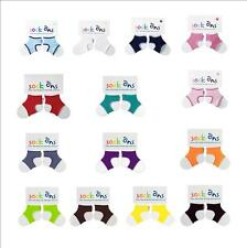 TWIN PACK Babies Sock Ons - All Colours and Sizes Available