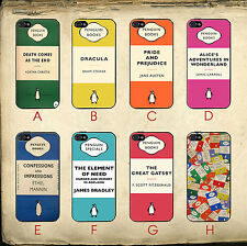 Penguin Books Vintage Alice In Wonderland Great Gatsby Case Cover for iPhone 6