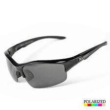 MEN DARK LENS POLARIZED BLACK OG SUNGLASSES BIKER GLASSES Oil Rig