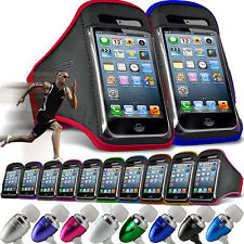 Adjustable Armband✔Sports Strap✔Pouch Phone Case✔In Ear Stereo Headset Headphone