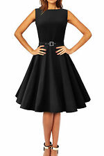 'Audrey' Vintage Clarity Style 1950s Rockabilly Swing Pin Up Evening Dress