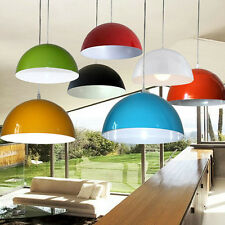 Modern Metal Cylinder Multi-color Lampshade Pendant Ceiling Light Shade Lamp