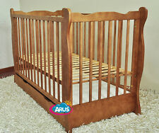 Cot beds with mattress: Cot/Junior Bed MONIKA colours + choose to mattress