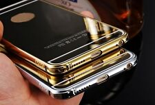 New iPhone-6-6-Plus-5-5s Luxury Metal Mirror Case Cover Silver Rose Gold 4 Apple