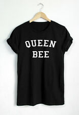QUEEN BEE T SHIRT WOMEN FASHION OUTFIT SHIRT UNISEX QUOTE TUMBLR SHIRT PINTEREST