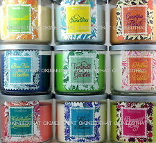 Bath & Body Works Candle 3 wick 14.5 oz pick scent Southern Sweet White Barn
