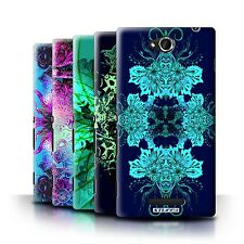 STUFF4 Back Case/Cover/Skin for Sony Xperia C/C2305/Symmetry Pattern