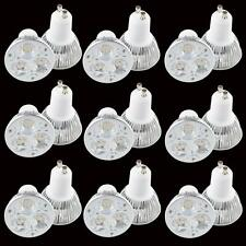 Epistar 9W 3x3W GU10 LED Light Bulb Dimmable Lamp White 110V 220V Home Indoor