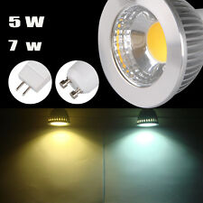 Sharp MR16/GU10 LED COB Spot down light lamp bulb 5W 7W 85-265V COOL WARM