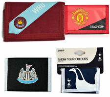 Official Licensed Football Club Wallet Man United West Ham Spurs Newcastle Tough